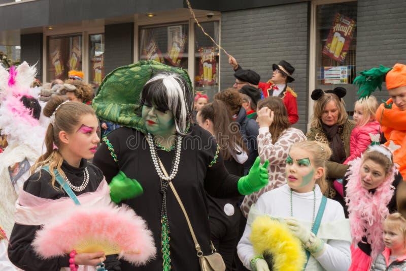 Καρναβάλι παιδιών στις Κάτω Χώρες στοκ εικόνες με δικαίωμα ελεύθερης χρήσης
