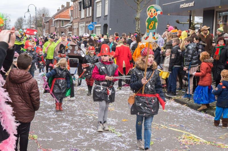 Καρναβάλι παιδιών στις Κάτω Χώρες στοκ εικόνα