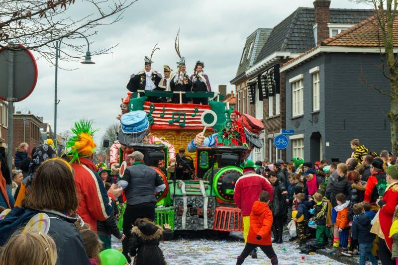Καρναβάλι παιδιών στις Κάτω Χώρες στοκ εικόνα με δικαίωμα ελεύθερης χρήσης