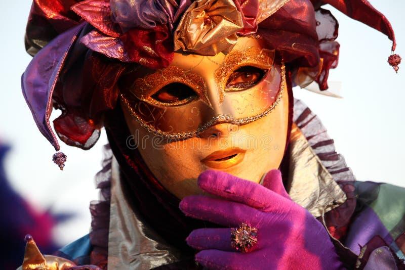 Καρναβάλι της Βενετίας - ενετική μεταμφίεση στοκ εικόνες με δικαίωμα ελεύθερης χρήσης