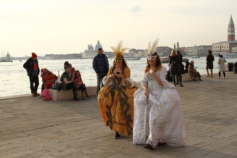 Καρναβάλι της Βενετίας - ενετική μεταμφίεση στοκ φωτογραφία με δικαίωμα ελεύθερης χρήσης