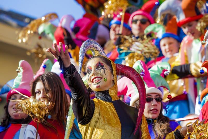 Καρναβάλι Viareggio στοκ εικόνες