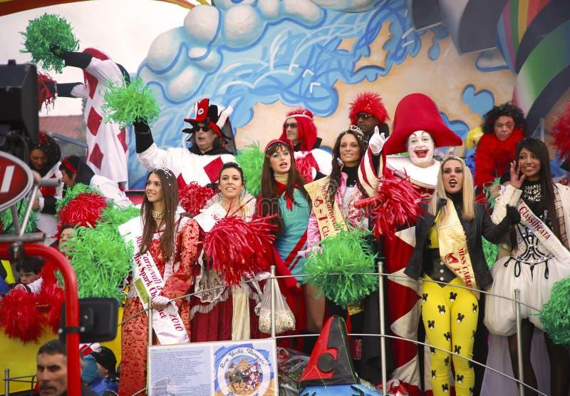 Καρναβάλι Viareggio στοκ εικόνες με δικαίωμα ελεύθερης χρήσης