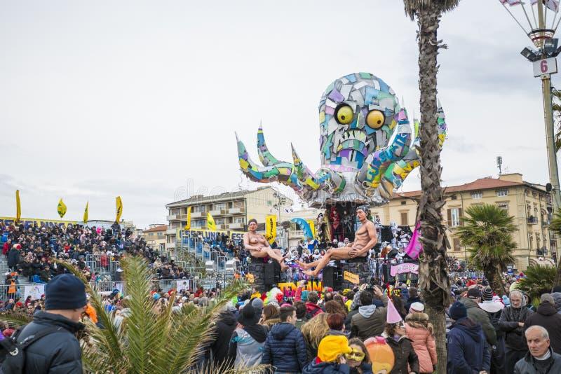 Καρναβάλι Viareggio στοκ φωτογραφία με δικαίωμα ελεύθερης χρήσης