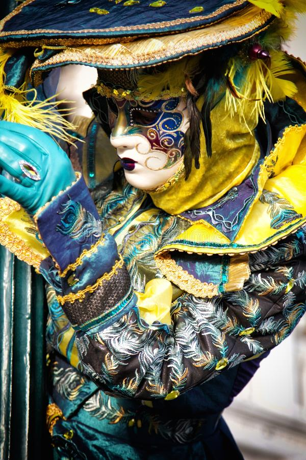 καρναβαλιού παραδοσιακό venezia Βενετία μασκών της Ιταλίας διακοσμήσεων διάσημο στοκ φωτογραφία