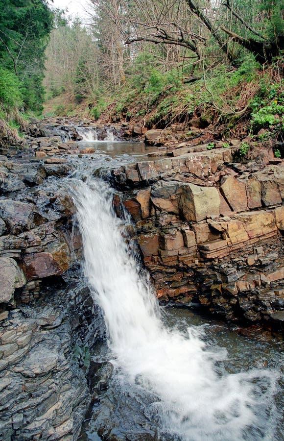 Καρπάθιος ποταμός βουνών στοκ εικόνες