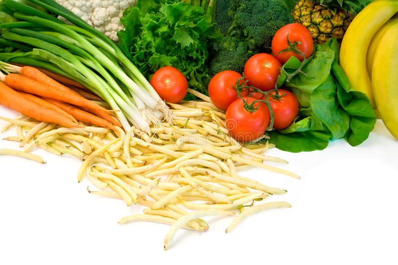καρποί μερικά λαχανικά στοκ εικόνες