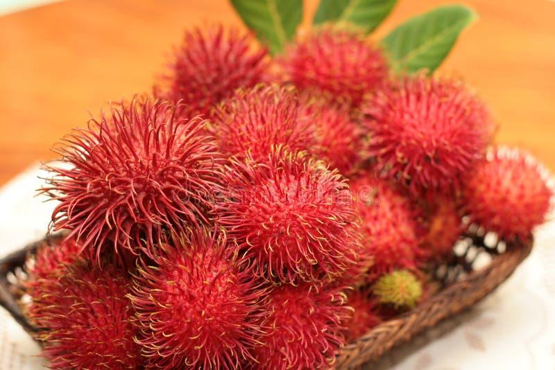 καρποί rambutan στοκ φωτογραφία με δικαίωμα ελεύθερης χρήσης