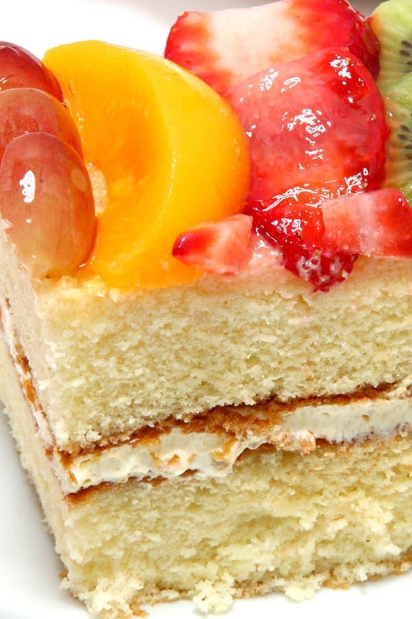 καρπός κέικ που βερνικώνε& στοκ εικόνες με δικαίωμα ελεύθερης χρήσης