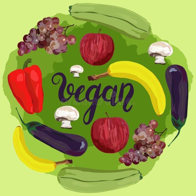 Καρπός και λαχανικά στοκ φωτογραφία με δικαίωμα ελεύθερης χρήσης
