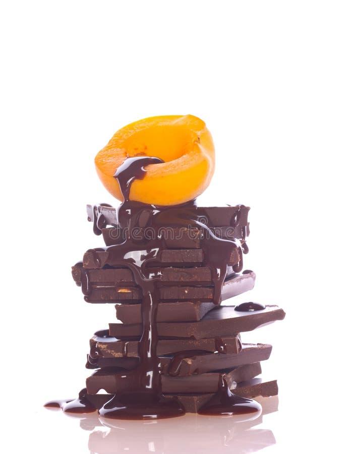 καρπός σοκολάτας που απ& στοκ φωτογραφία