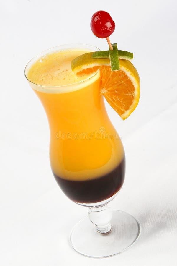 Καρπός cocktail παραδοσιακό κρύο ποτό το καλοκαίρι στοκ εικόνες