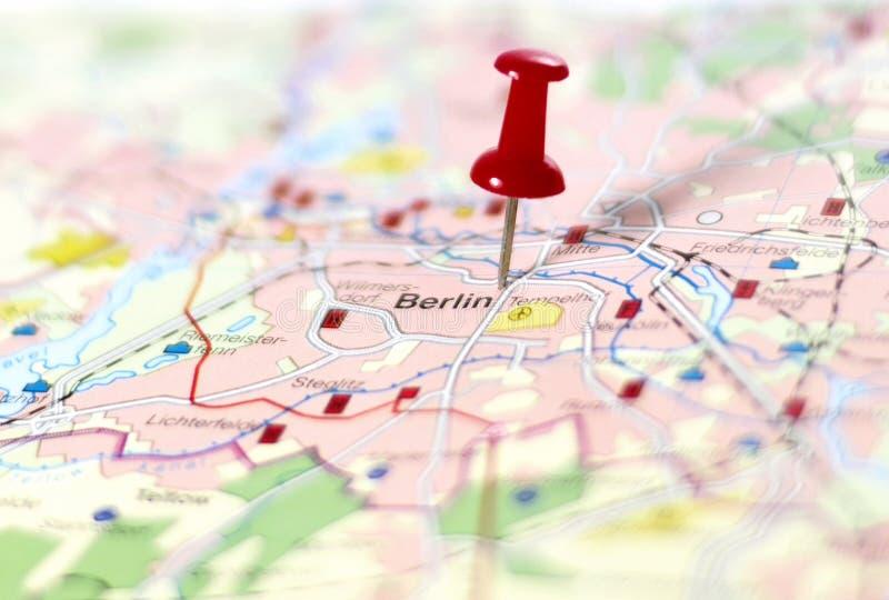Καρφίτσα που τίθεται στο Βερολίνο στοκ φωτογραφία με δικαίωμα ελεύθερης χρήσης
