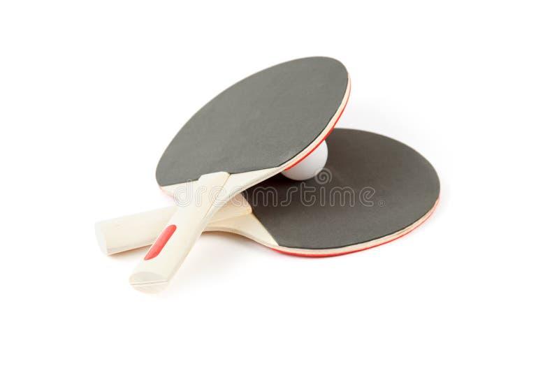 Καρφίτσα-pong-καρφώστε τα λάστιχα και μια σφαίρα στοκ εικόνες