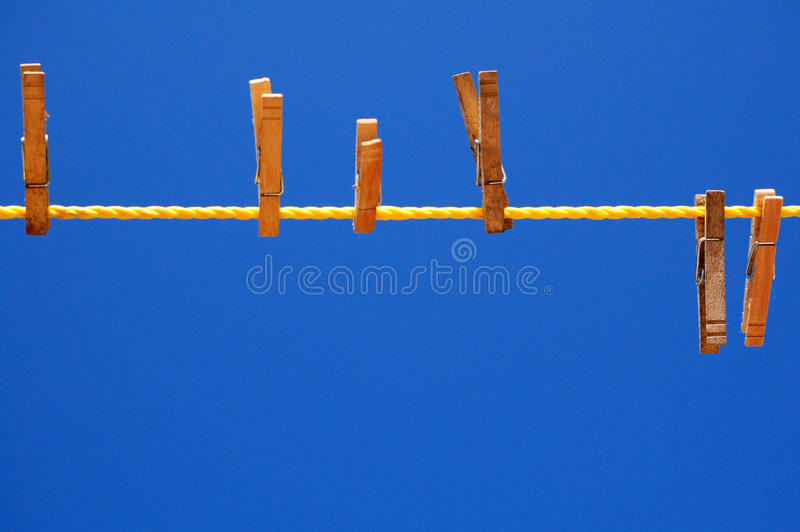 καρφίτσες ενδυμάτων στοκ φωτογραφία με δικαίωμα ελεύθερης χρήσης