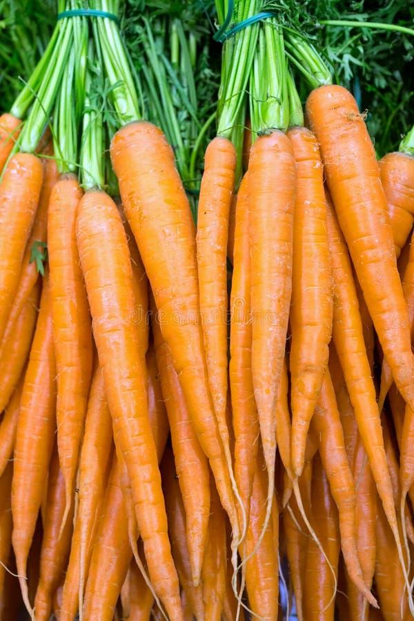 Καρότα στο παντοπωλείο στοκ εικόνα