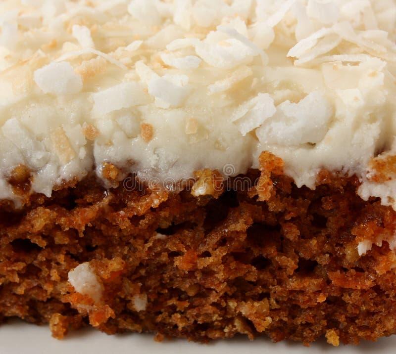 καρότο κέικ στοκ φωτογραφία