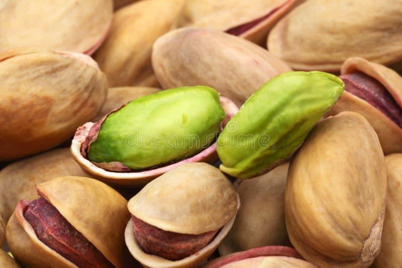 Καρύδια φυστικιών στοκ εικόνα με δικαίωμα ελεύθερης χρήσης