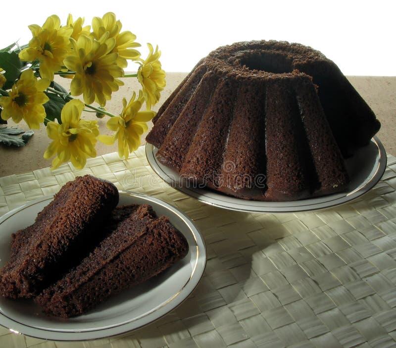 καρύδι κέικ στοκ εικόνες