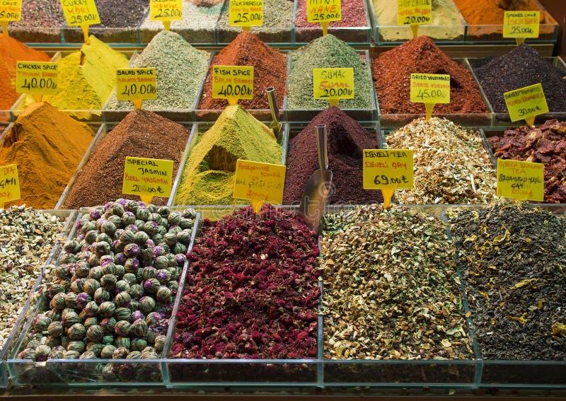 Καρύκευμα Bazar, Ιστανμπούλ στοκ φωτογραφία με δικαίωμα ελεύθερης χρήσης