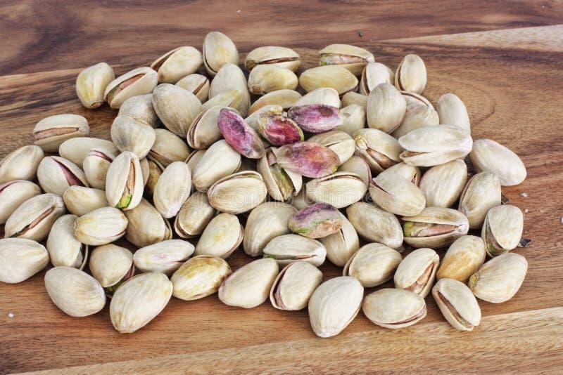 Καρύδια φυστικιών unhusked στοκ φωτογραφία με δικαίωμα ελεύθερης χρήσης