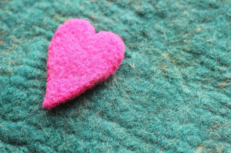 Καρδιά, κάρτα ημέρας βαλεντίνων στοκ φωτογραφία με δικαίωμα ελεύθερης χρήσης