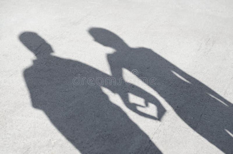 Καρδιά σκιών στοκ εικόνα με δικαίωμα ελεύθερης χρήσης