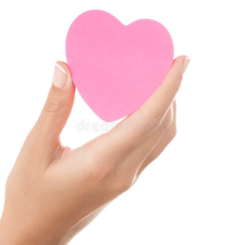 Καρδιά στη διάθεση στοκ φωτογραφία