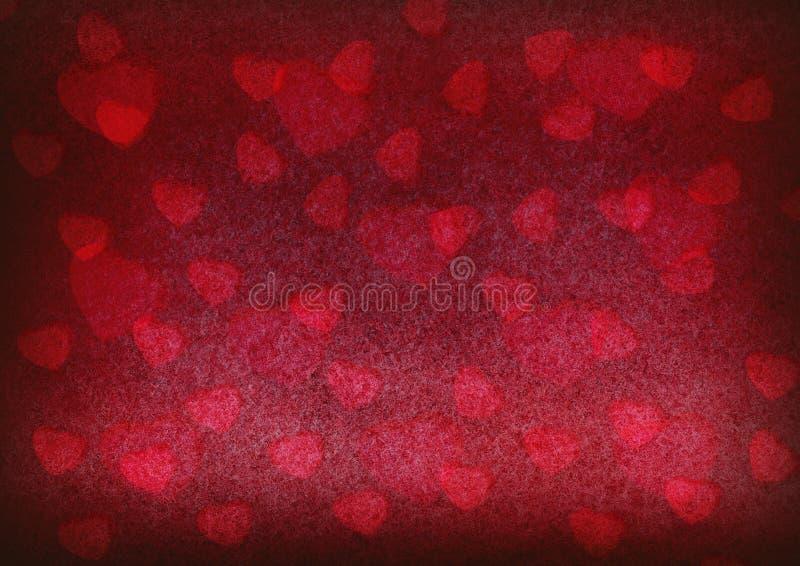 Καρδιά στο βρώμικο υπόβαθρο στοκ εικόνες
