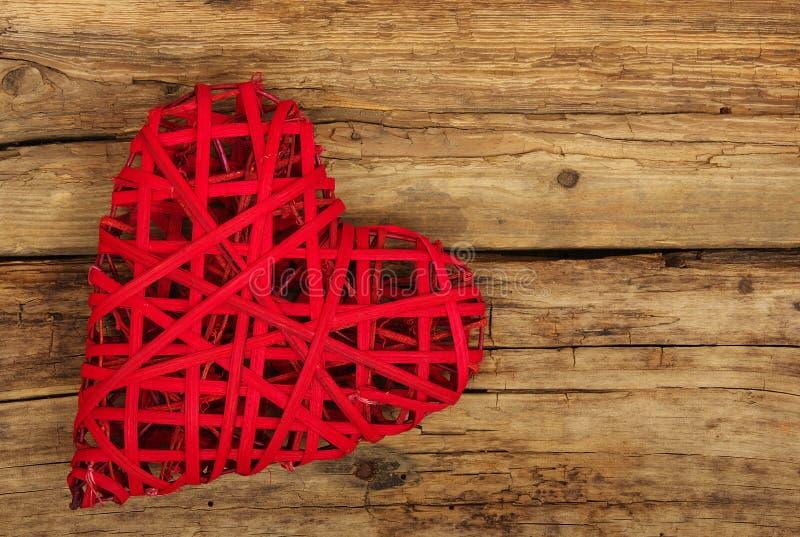 Καρδιά στο ξύλο στοκ εικόνες