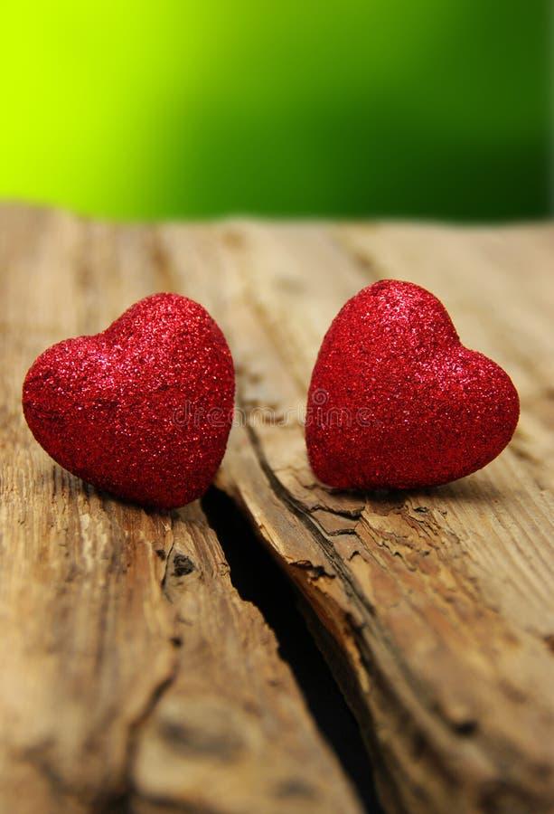 Καρδιά στο ξύλο στοκ φωτογραφία με δικαίωμα ελεύθερης χρήσης