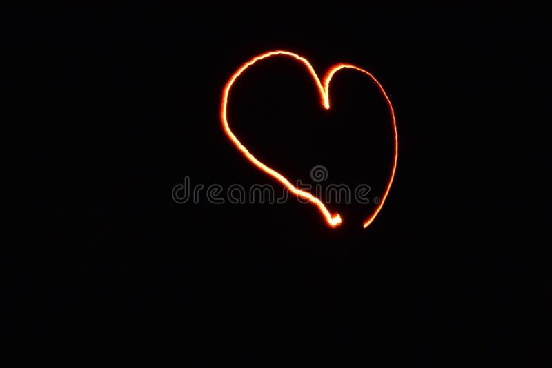 Καρδιά του φωτός στοκ εικόνα με δικαίωμα ελεύθερης χρήσης