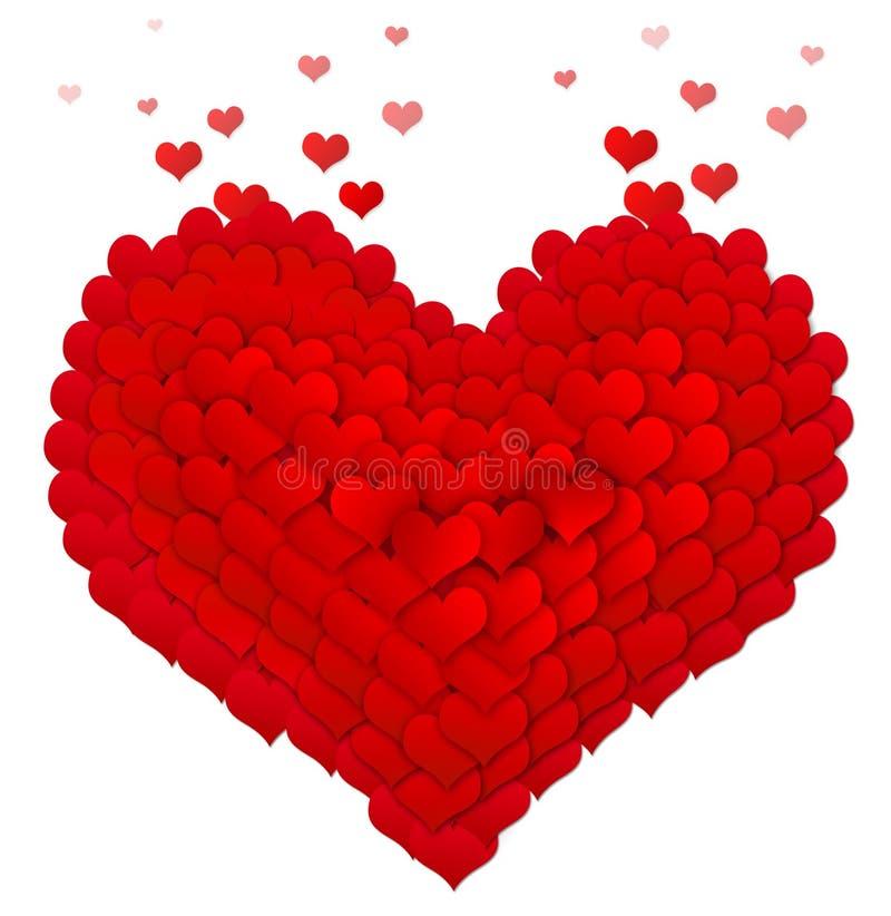 Καρδιά των καρδιών στοκ εικόνες
