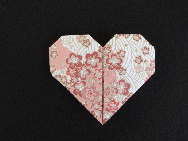 Καρδιά Origami στοκ φωτογραφίες
