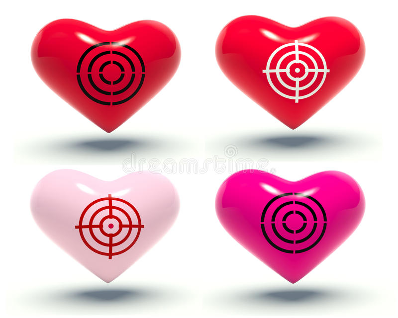 Καρδιές. ελεύθερη απεικόνιση δικαιώματος