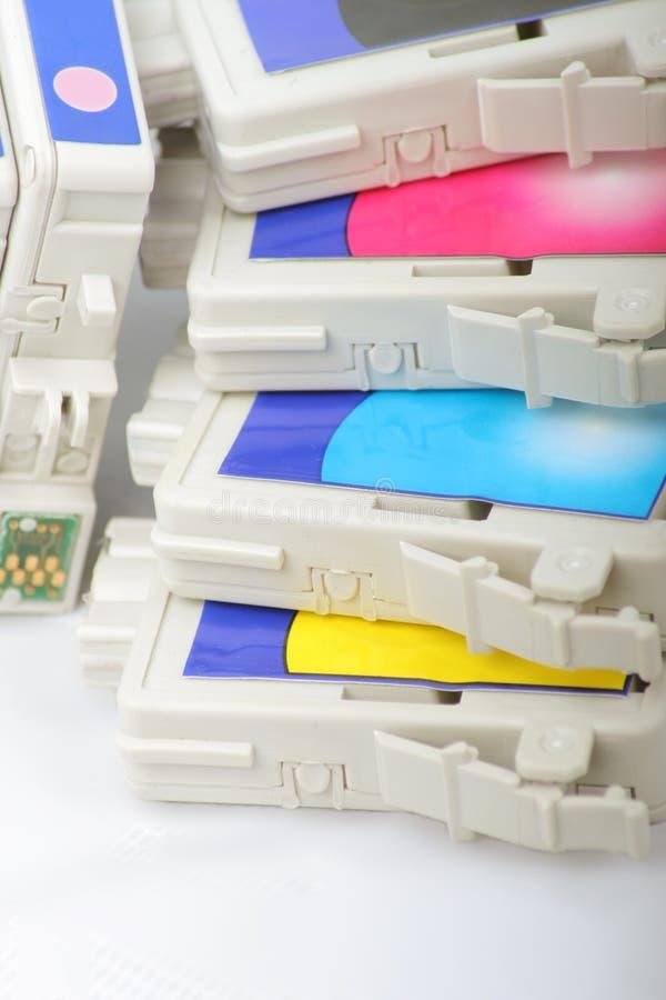 κασέτα Inkjet στοκ φωτογραφία με δικαίωμα ελεύθερης χρήσης