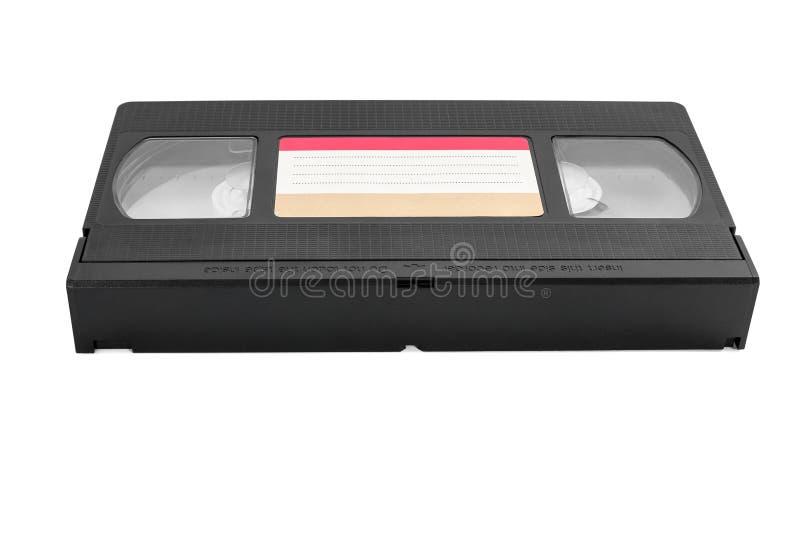 Κασέτα VHS στο άσπρο υπόβαθρο στοκ εικόνα με δικαίωμα ελεύθερης χρήσης