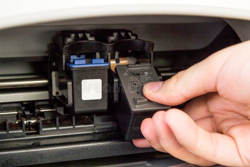 Κασέτες μελανιού εκτυπωτών υπολογιστών στοκ φωτογραφία με δικαίωμα ελεύθερης χρήσης