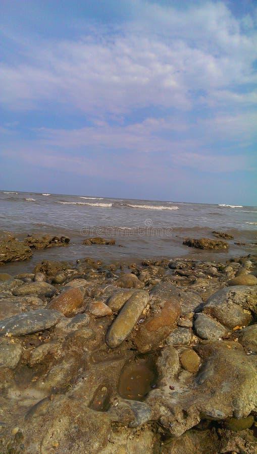 Κασπία Θάλασσα στοκ εικόνα με δικαίωμα ελεύθερης χρήσης