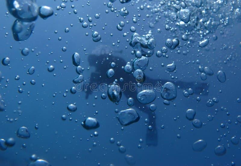 Κατάδυση υποβρύχια στοκ φωτογραφίες