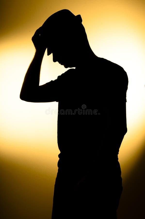 κατάθλιψη στοκ εικόνα με δικαίωμα ελεύθερης χρήσης
