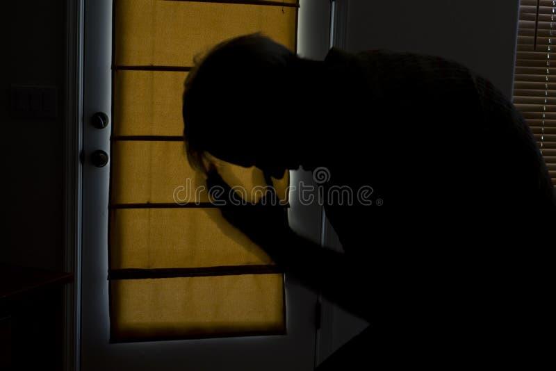 κατάθλιψη στοκ φωτογραφία