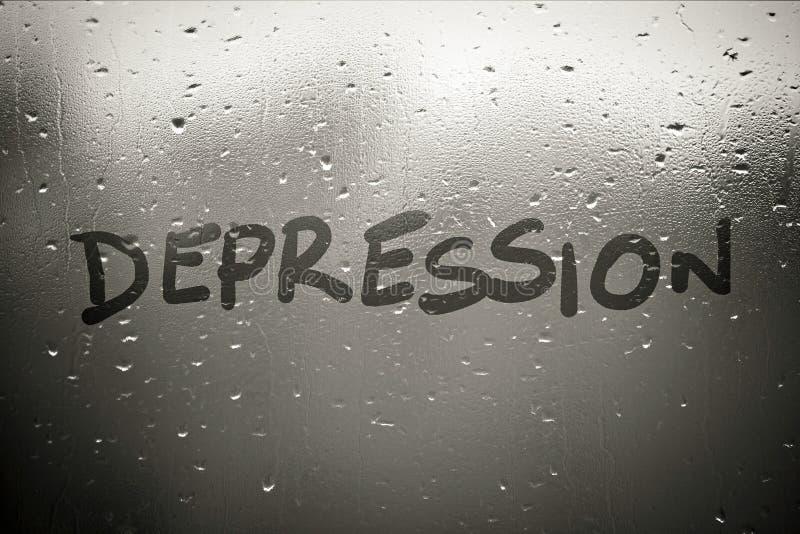 Κατάθλιψη στοκ εικόνες