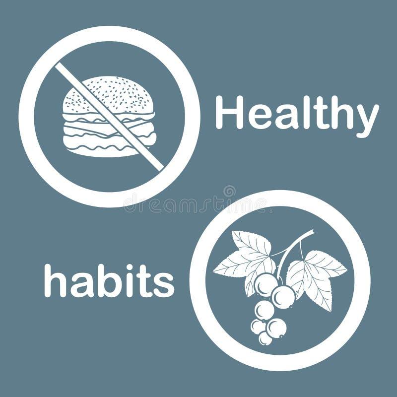 Κατάλληλη διατροφή με το υπερβολικές βάρος και την παχυσαρκία ελεύθερη απεικόνιση δικαιώματος