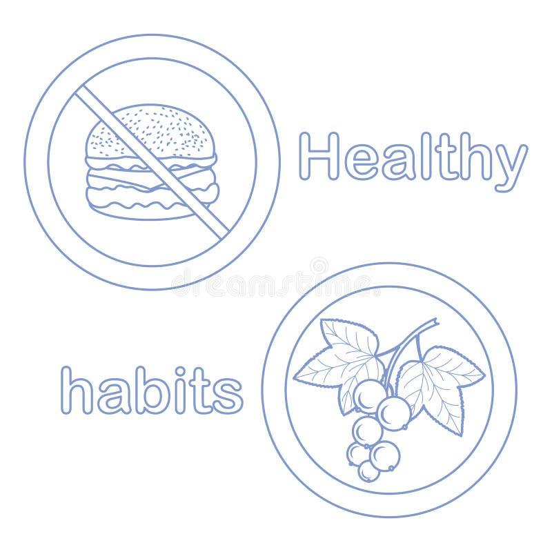 Κατάλληλη διατροφή με το υπερβολικές βάρος και την παχυσαρκία απεικόνιση αποθεμάτων