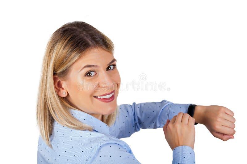 Κατάλληλη ζώνη στον καρπό της γυναίκας στοκ φωτογραφίες