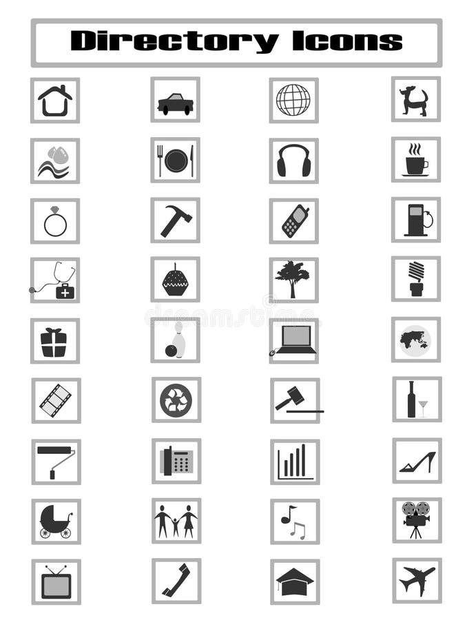 κατάλογος αρχείων ελεύθερη απεικόνιση δικαιώματος