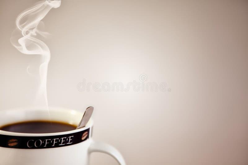 κατάλογος επιλογής καφέ στοκ εικόνες