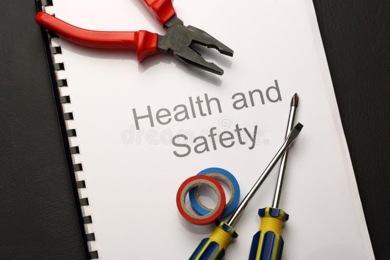 Κατάλογος υγειών και ασφαλειών στοκ φωτογραφίες