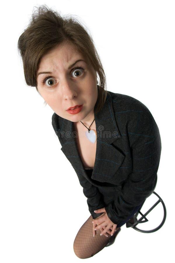 κατάπληκτη γυναίκα στοκ εικόνα με δικαίωμα ελεύθερης χρήσης